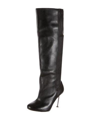 maison martin margiela knee high boots shoes mai24051
