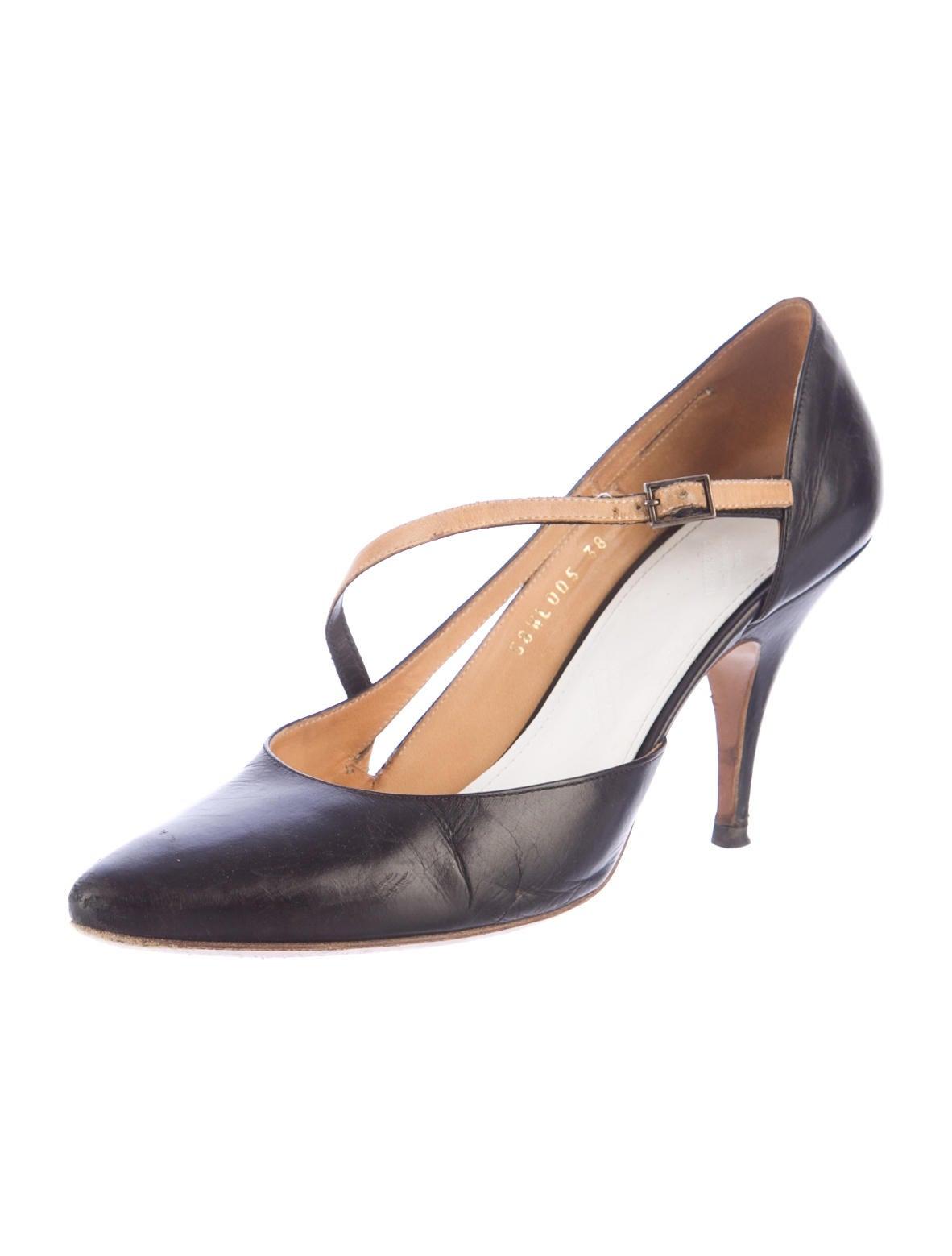 maison martin margiela pumps shoes mai24174 the realreal. Black Bedroom Furniture Sets. Home Design Ideas