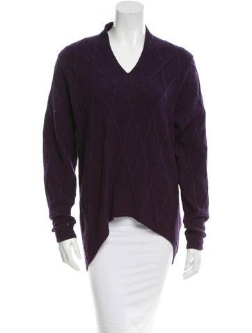 Maison Martin Margiela Wool V-Neck Sweater w/ Tags None