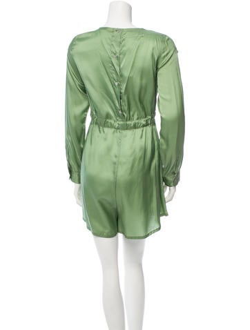 Maison Martin Margiela Long Sleeve Drawstring Romper w/ Tags