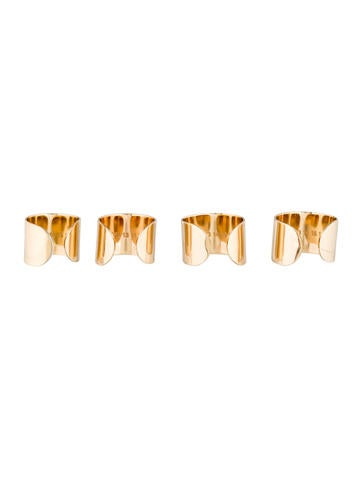 Maison Martin Margiela Quad Knuckle Ring Set