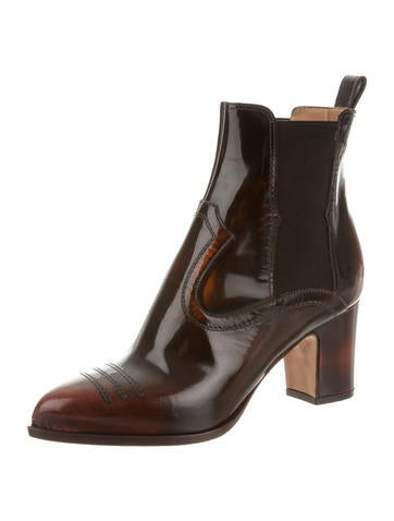 Maison Martin Margiela Leather Chelsea Boots