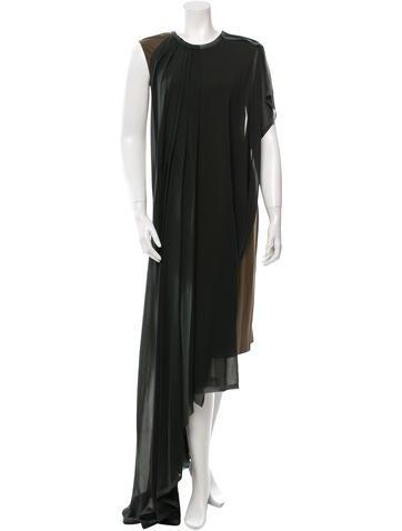 Maison Martin Margiela Sleeveless Draped Dress None