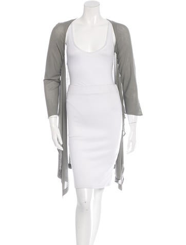 Maison Martin Margiela Open Front Batwing Cardigan None