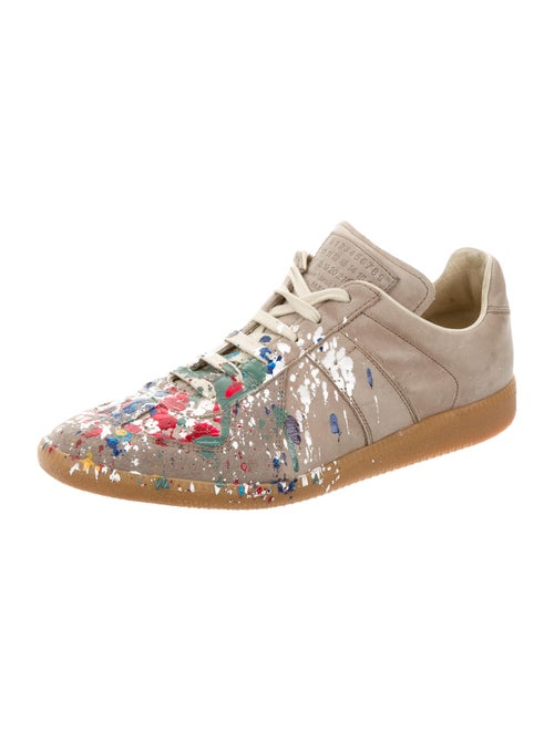 96a6490a000 Maison Margiela Maison Martin Margiela Replica Nubuck Sneakers ...