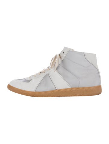 Maison Margiela suede trim sneakers how much for sale clearance enjoy XuMpnJn