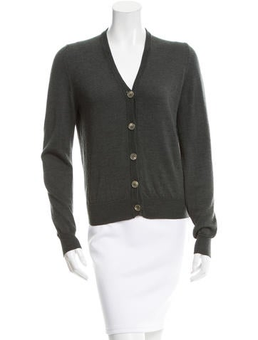 Maison Martin Margiela Wool Knit Cardigan None