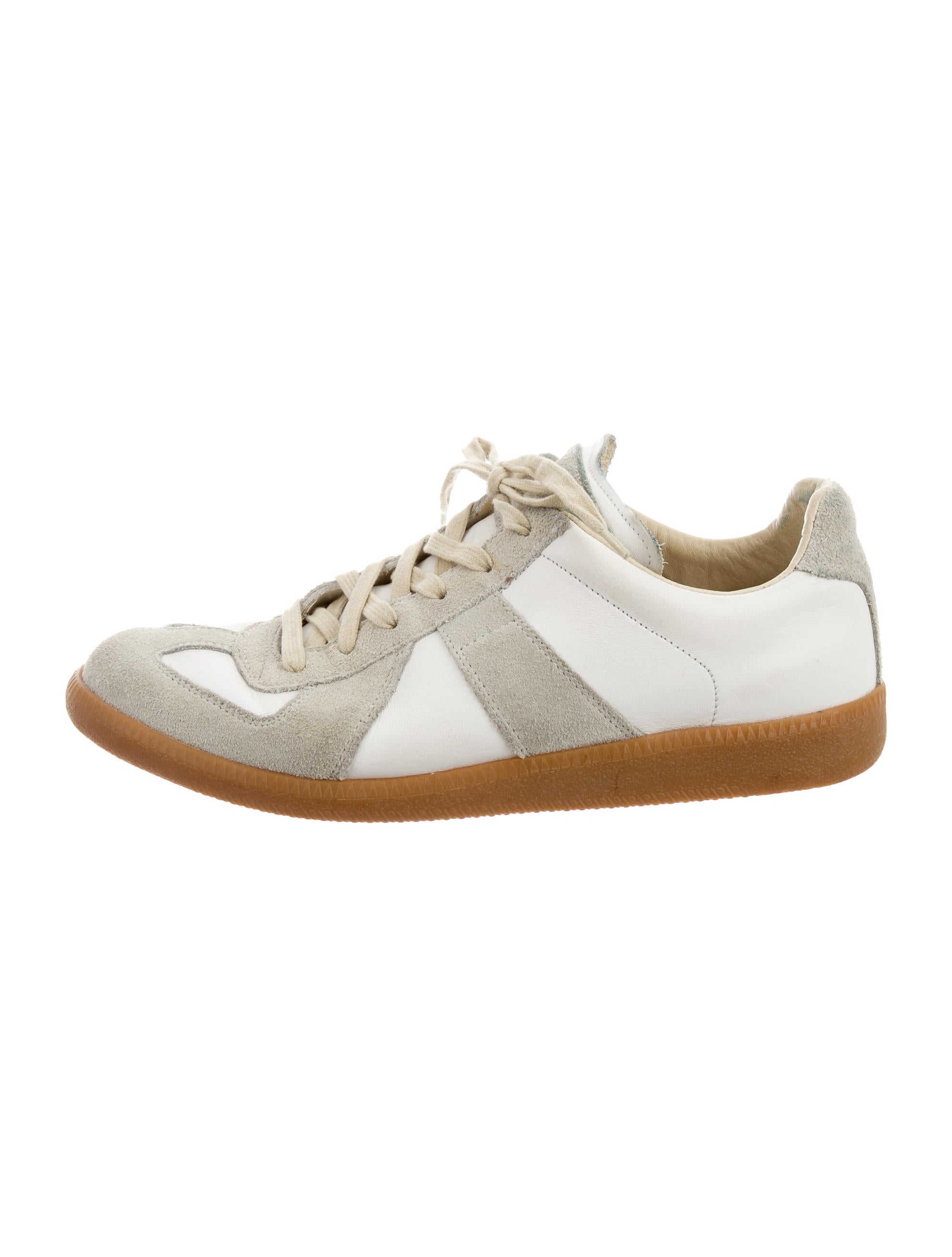 Maison martin margiela replica low top sneakers shoes for Replica maison martin margiela