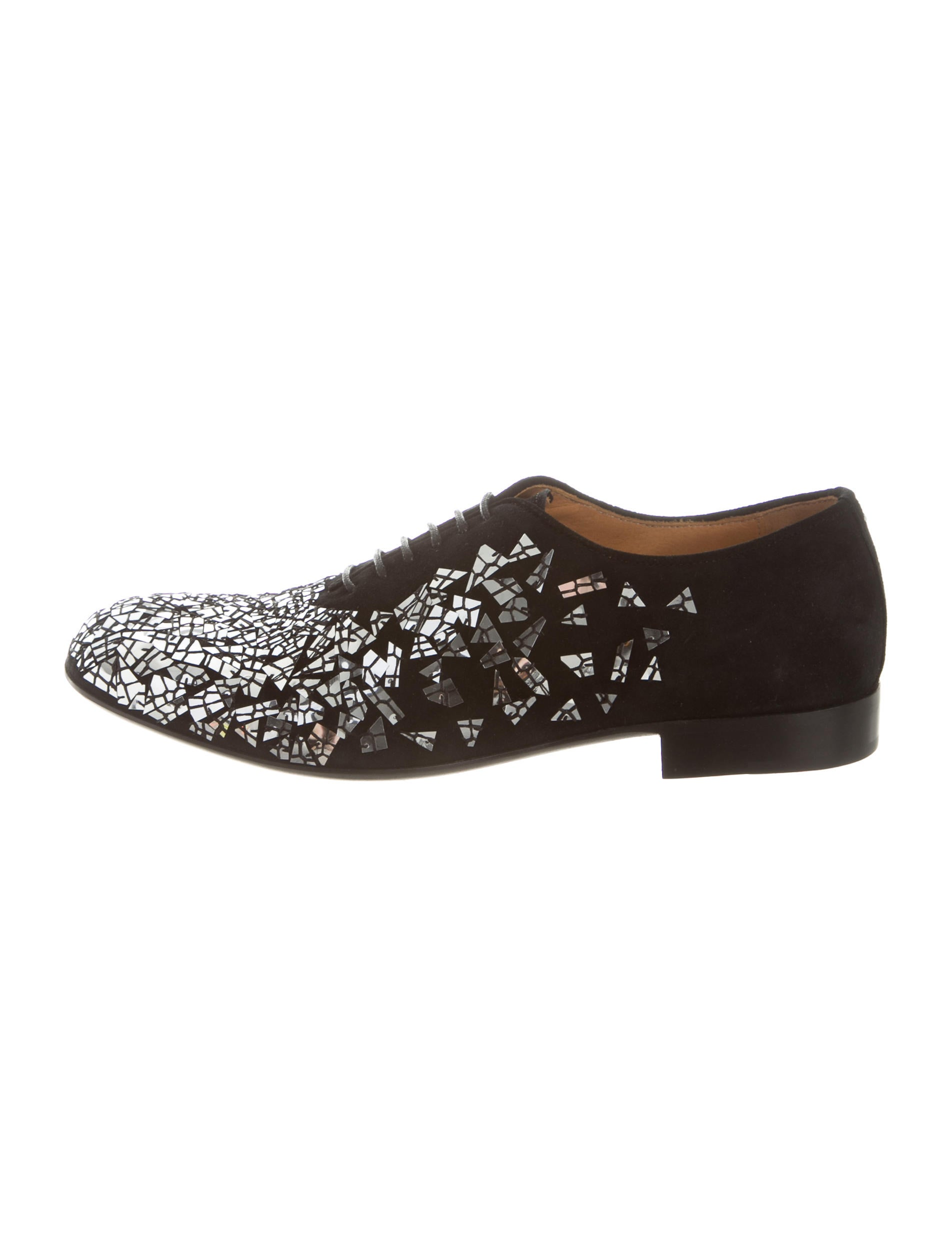 Maison Margiela Patent Leather Round-Toe Oxfords w/ Tags sale cheap price buy cheap largest supplier browse a17Ld6