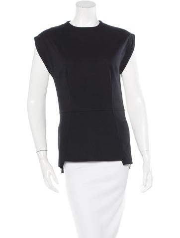 Maison Martin Margiela Fitted Sleeveless Top None