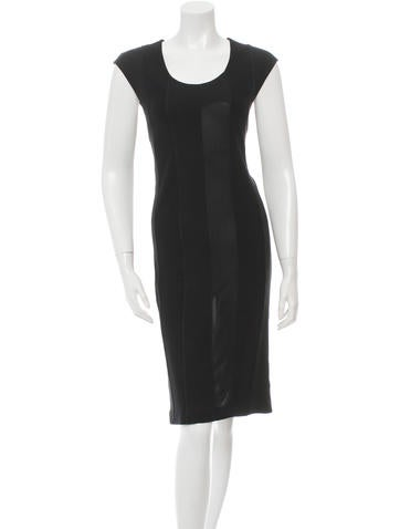 Maison Martin Margiela Sleeveless Midi Dress None
