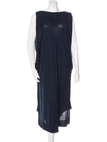 Maison Martin Margiela Sleeveless Knit Dress None
