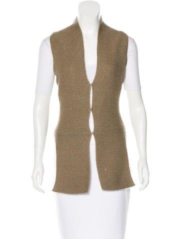 Maison Martin Margiela Mohair Metallic Vest None