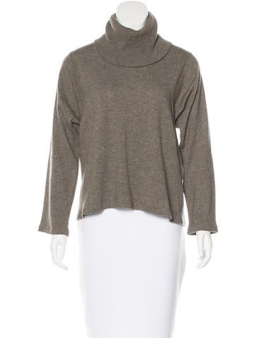 Maison Martin Margiela Wool Leather-Trimmed Sweater None