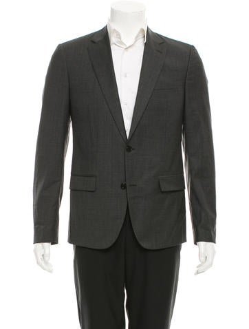 Maison Martin Margiela Wool Two-Button Blazer None