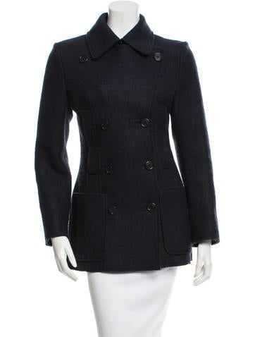 Maison Martin Margiela Lightweight Double-Breasted Coat None
