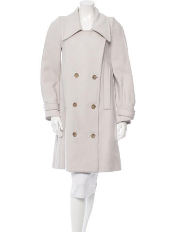 Maison Martin Margiela Wool & Angora Coat None