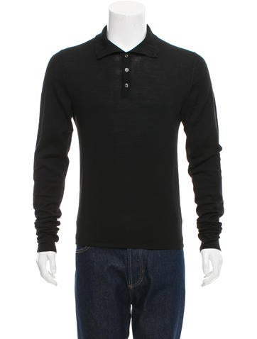 Maison Martin Margiela Wool Polo Shirt None