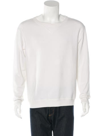 Maison Martin Margiela Crew Neck Sweatshirt None