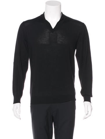 Maison Martin Margiela Wool V-Neck Sweater None