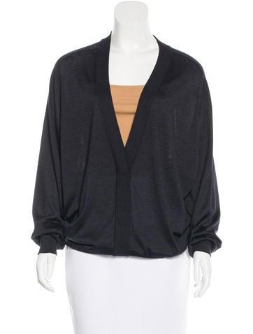 Maison Martin Margiela Oversize Silk Sweater None