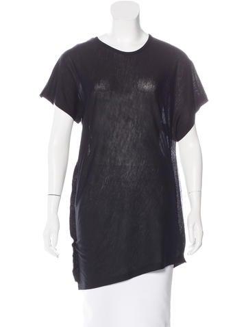 Maison Martin Margiela Wool Short Sleeve Top w/ Tags None