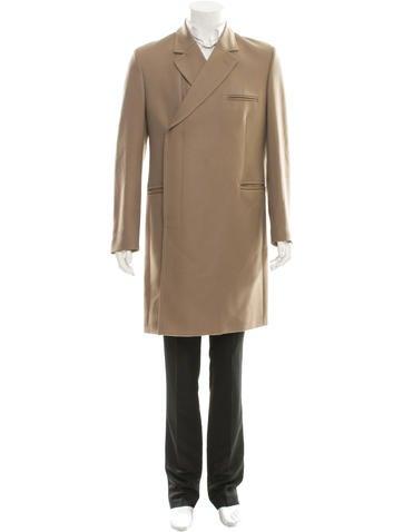 Maison Martin Margiela Wool Notch-Lapel Coat None
