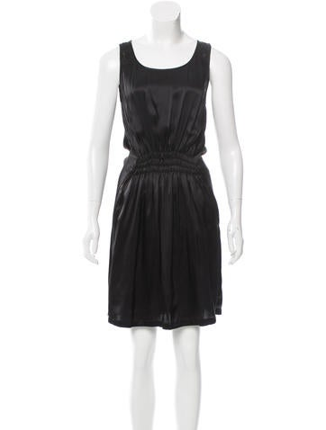 Maison Martin Margiela Silk Knee-Length Dress None