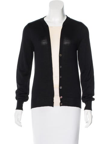 Maison Martin Margiela Wool & Silk-Blend Top None