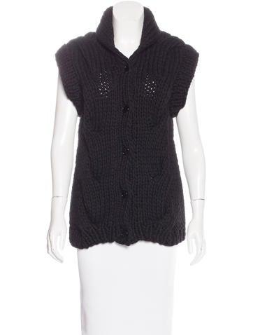 Maison Martin Margiela Short Sleeve Button-Up Cardigan None