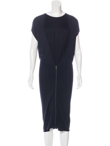 Maison Margiela Midi Knit Dress None