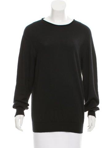 Maison Margiela Cashmere Bateau Neck Sweater None