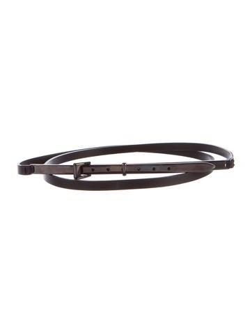 Maison Margiela Leather Belt None