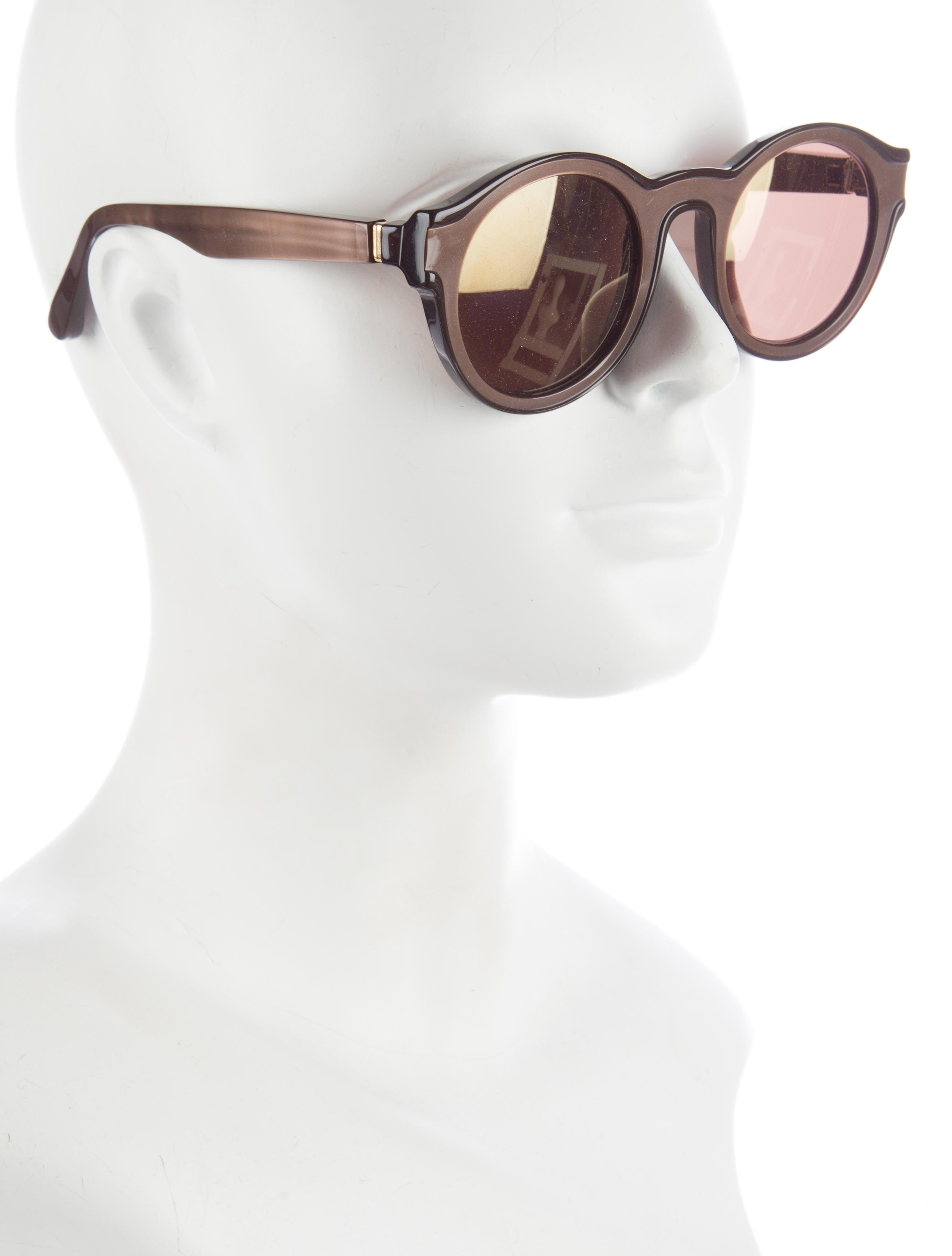Maison margiela mykita round sunglasses accessories for Martin margiela glasses