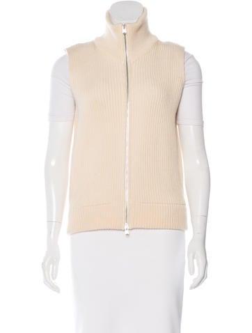 Maison Margiela Wool Rib Knit Vest None