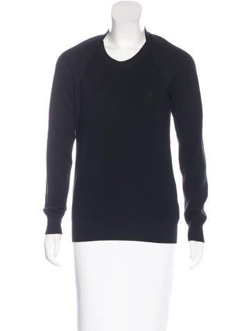 Maison Margiela Cutout Wool Sweater None