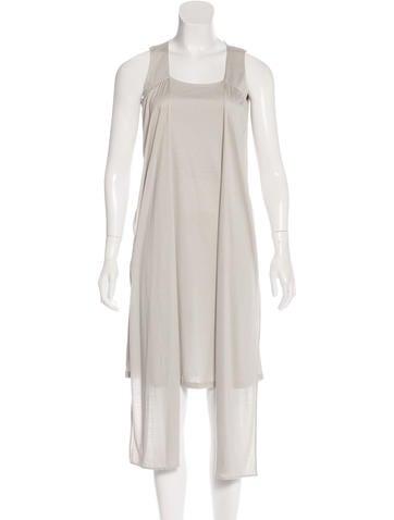Maison Margiela Sleeveless Knee-Length Dress None
