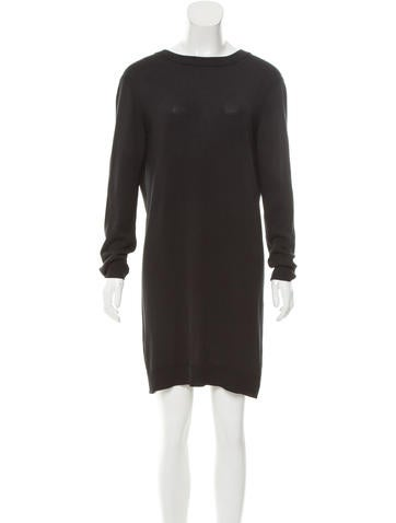Maison Margiela Silk Knit Dress None