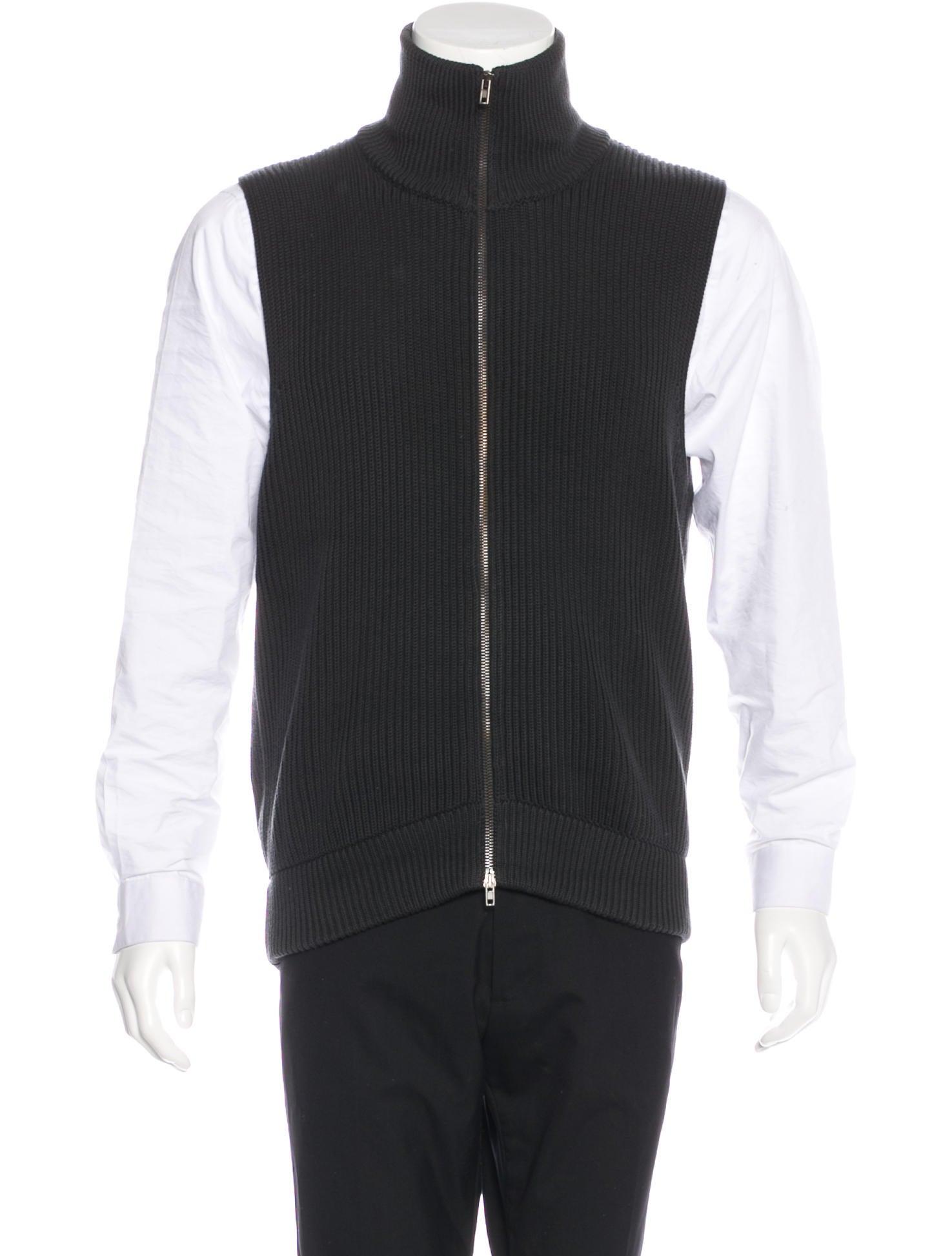 Maison Margiela Zip Sweater Vest - Clothing - MAI29666 | The RealReal