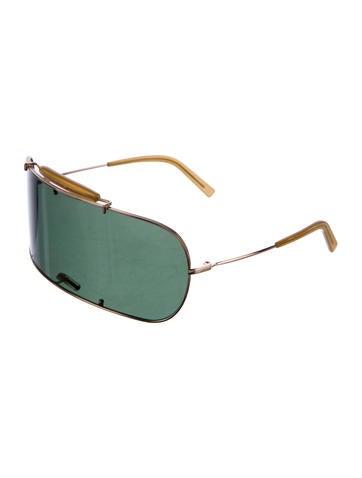 Maison martin margiela mono shield sunglasses for Martin margiela glasses