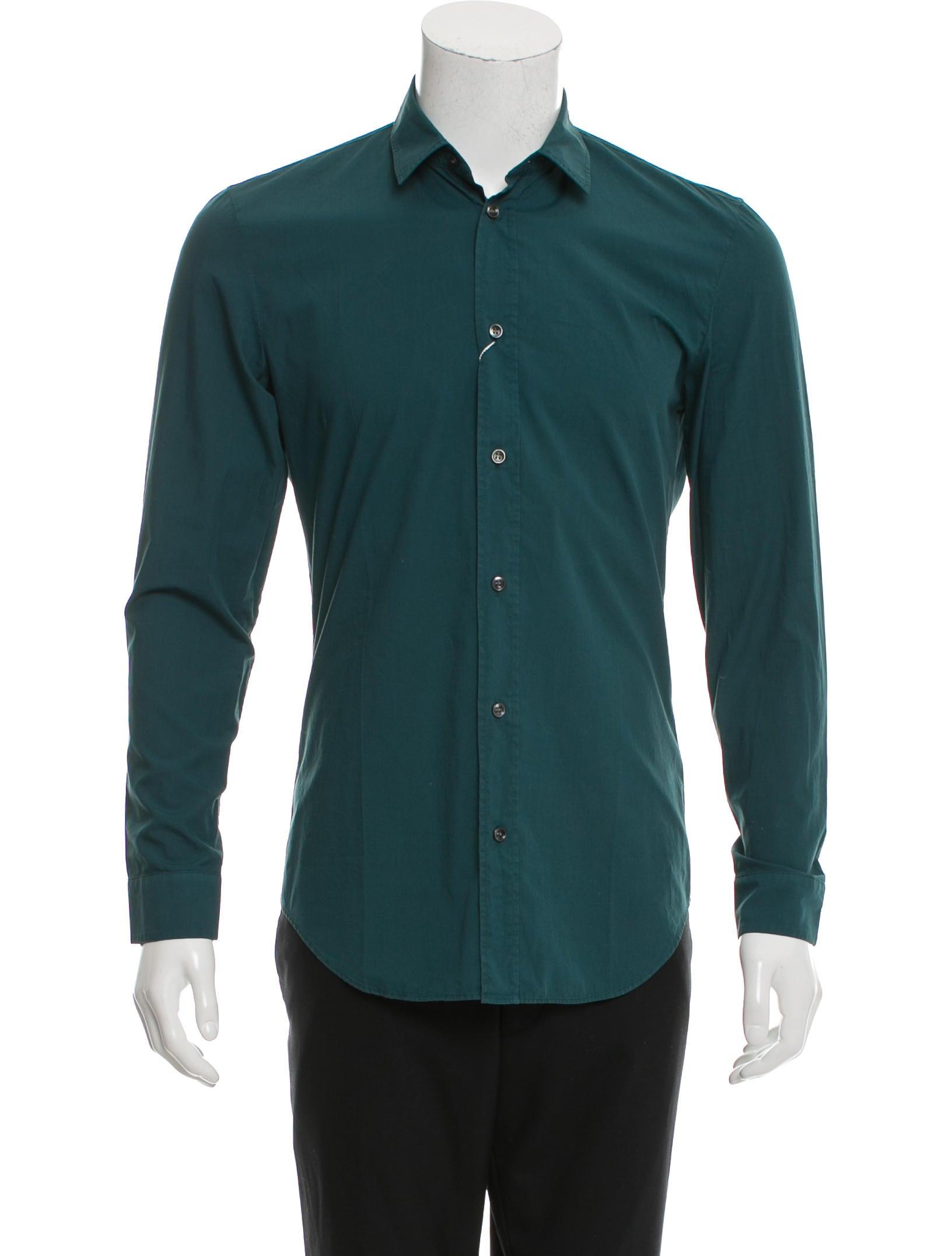 Maison Margiela Long Sleeve Button Up Shirt Clothing