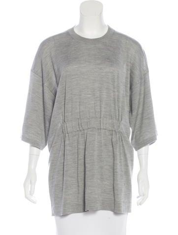 Maison Margiela Short Sleeve Knit Top None