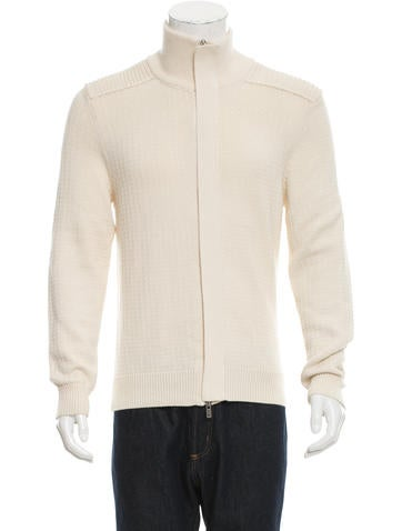 Maison Margiela Wool-Blend Rib Knit Sweater None