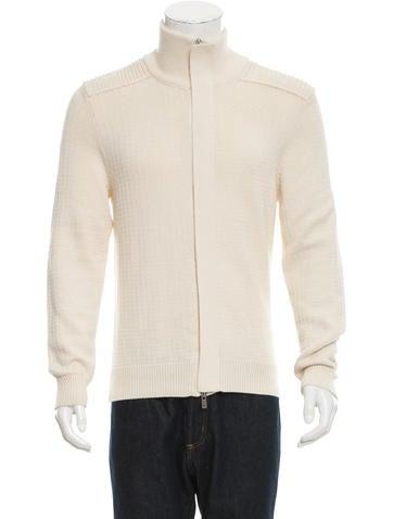 Maison Margiela Wool-Blend Rib Knit Sweater None