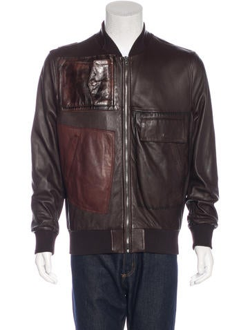 Maison Margiela Leather Utility Jacket None