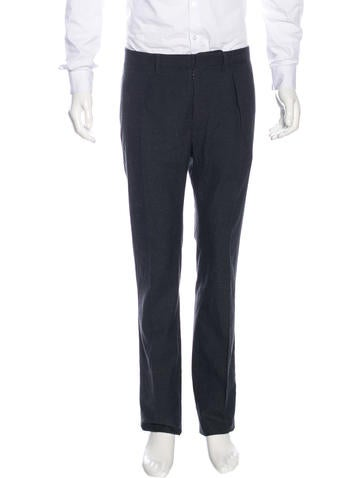 Maison Margiela Wool & Silk Trousers None
