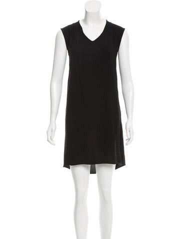 Maison Martin Margiela Sleeveless V-Neck Dress None