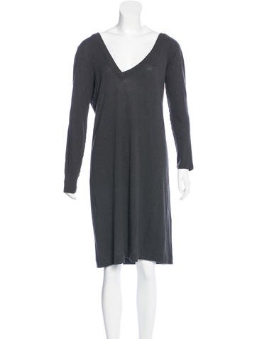 Maison Margiela Long Sleeve Knit Dress None
