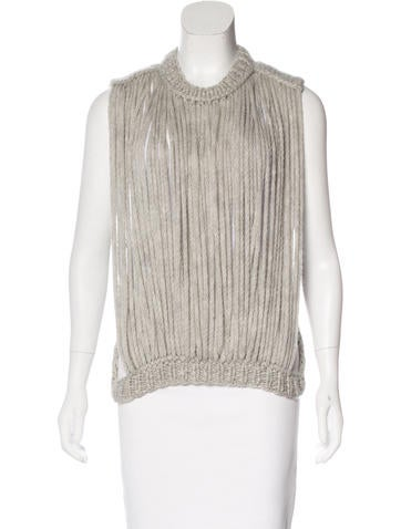 Maison Margiela Alpaca & Wool Sweater None