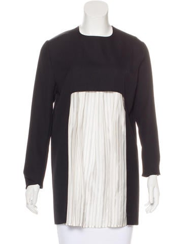 Maison Martin Margiela Wool Two-Piece Top None
